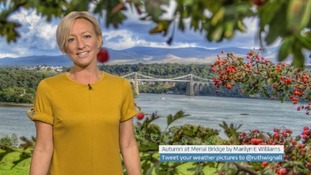 Wales Weather: Wet and very windy!