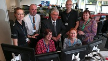 NHS experts have joined Durham Constabulary's call centre