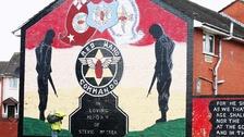 Red Hand Commando mural