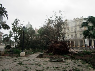 The damage done by Hurricane Irma in Cuba
