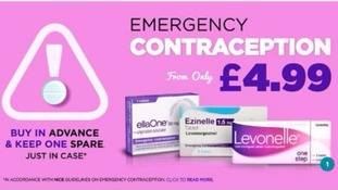 Morning after pill offered online for just £4.99 - a fraction of the cost from most pharmacies