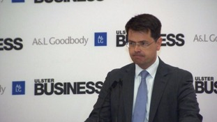 """James Brokenshire warned of a """"glide path to greater intervention"""" by the UK Government."""