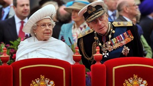 "The Queen said she was ""humbled"" by the size of the Jubilee crowds"