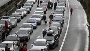 M6 Traffic delays