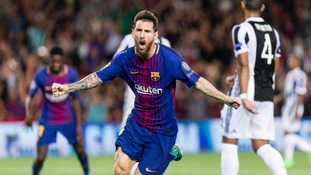 Barcelona President says Messi's father has signed a new contract at the club on behalf of the forward