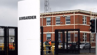Bombardier announces 95 redundancies in Belfast