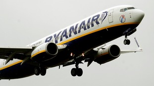 A Ryanair flight was forced to make an emergency landing after losing one of  its nose wheels.