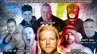 The Knight family from Norwich are to feature in a new film about wrestling due out in the spring of 2018.