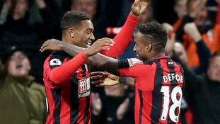 Defoe fires Bournemouth to first win of season over Brighton