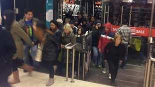 Debenhams stores in Ireland opened at 8am to long queues of shoppers