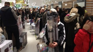 The Next store in Lincoln opened its doors to shoppers at 6am