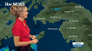 Saturday's forecast for the Borders Regions