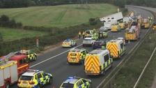 Police still investigating fatal M5 collision