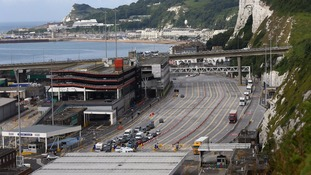The teenager was arrested at Dover on Saturday.