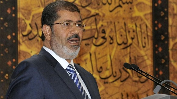 Mohamed Mursi says the new constitution will help fix Egypt&#x27;s economy