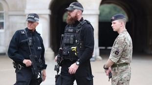 The UK terror threat level remains at critical.