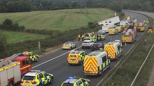 First aiders describe tragic M5 crash