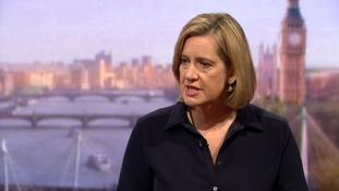 Amber Rudd labelled Boris Johnson a 'backseat driver'.