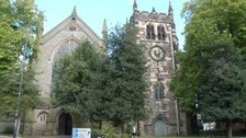 St Werburgh's Church in Derby.