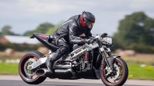 Zef Eisenberg is back in the saddle after horror crash