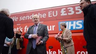 Boris Johnson was criticised for misuse of statistics.