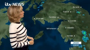 Sunday's forecast for the Borders Regions