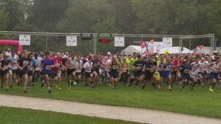 Cambridge 'Chariots of Fire' relay race raises around £70,000 for charity