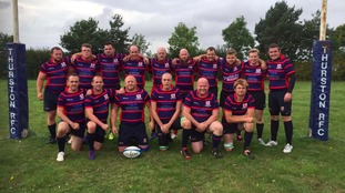 Thurston RFC posted this picture of Josh with the team