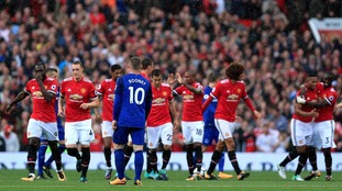 Rooney's Old Trafford return ended in disappointment Manchester United to struck late three times to sink Everton