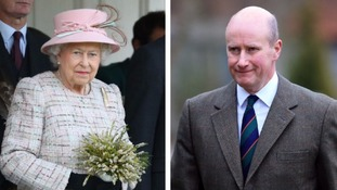Why has the Queen's most loyal aide suddenly left his role?