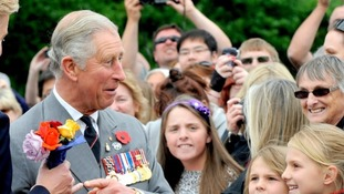 It is rumoured that Prince Charles was unhappy with a slow handover.