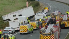 "The crash was described by police officers as ""harrowing"" and ""horrific""."
