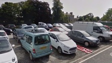 The car park at New Road is closed from Monday 18 September