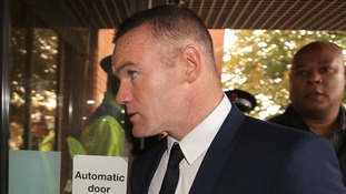 Wayne Rooney banned from roads after admitting drink driving
