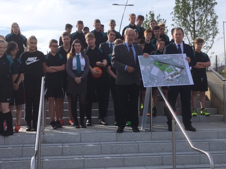 Side By Side Utv >> Former Sports Minister opens Olympic Legacy Park | Calendar - ITV News