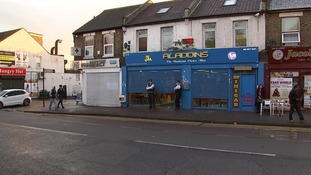 Police made one arrest outside of a Hounslow chicken shop.