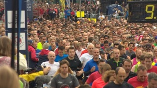 More than 10,000 runners take part in Bristol Half Marathon