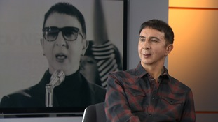 Marc Almond talks about his new album.