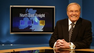 Mike Neville presenting North East Tonight in 2005.