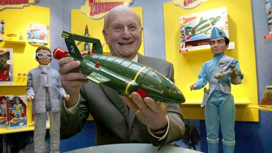 Creator of Thunderbirds, Gerry Anderson