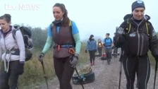 'Ice maidens' prepare for gruelling trek to South Pole
