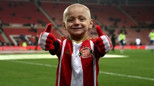 Sunderland and Everton players to wear shirts with Bradley Lowery Foundation logo for Wednesday's Carabao Cup tie