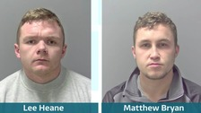 Lee Heane and Matthew Bryan have been jailed for a combined total of 13 years.
