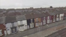 Homes earmarked for demolition undergo controversial revamp