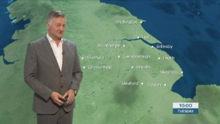 The morning weather forecast with Jon Mitchell