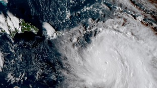 'Widespread devastation' as Hurricane Maria makes landfall