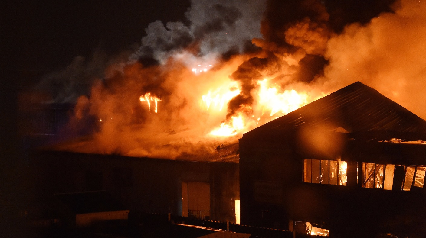 tottenham fire  over 100 firefighters tackle huge blaze at