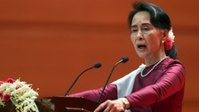Myanmar 'does not fear scrutiny', says Aung San Suu Kyi