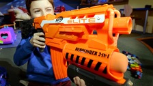 Doctors issue warning over Nerf gun eye injuries