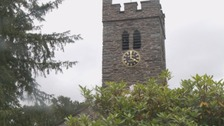 Coniston church clock silenced overnight